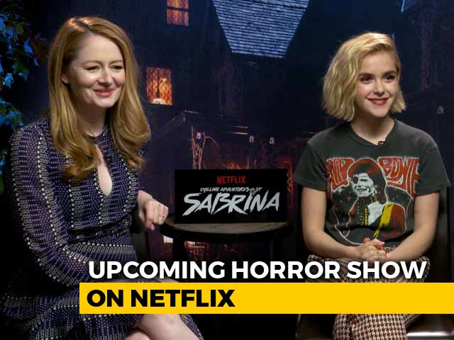 Video : Meet The Stars Of <i>The Chilling Adventures Of Sabrina</i>