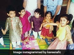 Photos Of Taimur, Inaaya And Laksshya Dressed For Navratri Are Winning The Internet