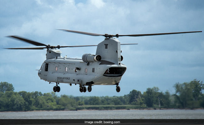 Air Force Starts Training Pilots To Fly US-Made Heavy-Lift Helicopters