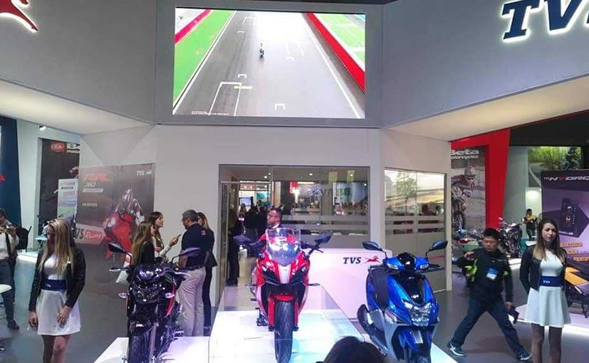 TVS Expands Product Portfolio in Argentina With Apache RR 310, Apache 200 4V And NTorq 125