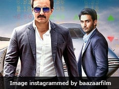 <i>Baazaar</i> Movie Review: Saif Ali Khan Is Rock-Solid In A Passable Film
