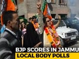 Video : BJP Wins Election To Jammu Civic Body, Suffers Losses In Other Districts