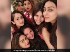 Pics From Urvashi Dholakia, Ekta Kapoor, Kanchi Kaul And Krystle D'Souza's Night Out Are Now Viral
