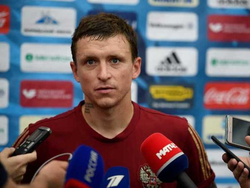 Russian Police Detain Footballer Facing