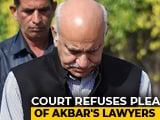 Video : MJ Akbar To Record Statement In Defamation Case On October 31