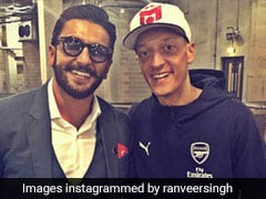 "Mesut Ozil Wants To Visit India To Meet His ""Friend"" Ranveer Singh"