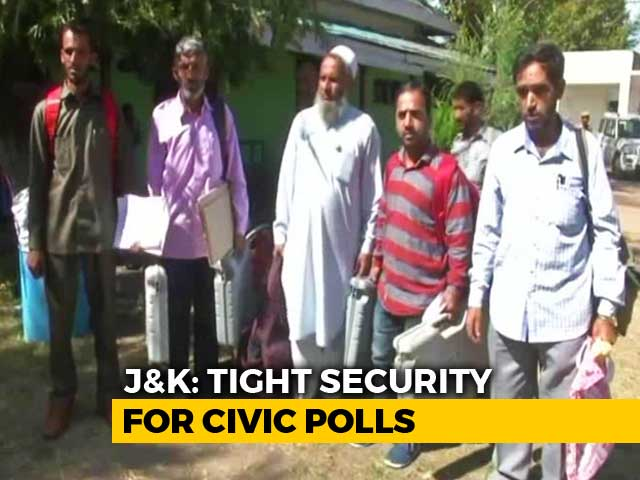 Video : Low Voting In Kashmir For Civic Polls Shunned By 2 Big Parties