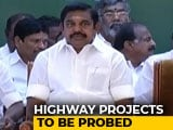 Video : CBI Probe Ordered Into Alleged Corruption By Tamil Nadu's Chief Minister