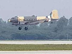 Aircraft Straight Out Of 1940s Is Star Of Indian Air Force Display