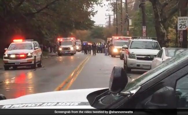 अमेरिका: यहूदी प्रार्थना स्थल पर गोलीबारी में 11 लोगों की मौत, कई घायल