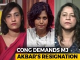 Video: #MeToo Movement: Government Still Silent On MJ Akbar