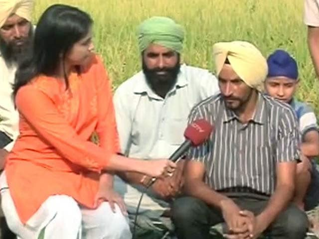Video : Villagers From Shehzada Kalan, Gurdaspur District Ditch Stubble Burning