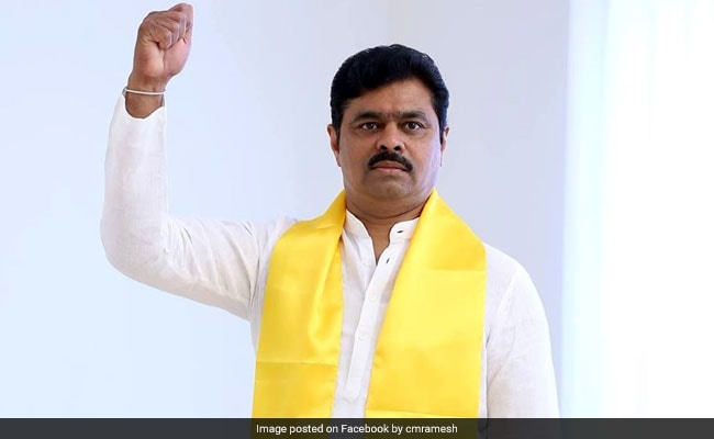 Tax Raids At TDP Lawmaker CM Ramesh's Homes, Office End