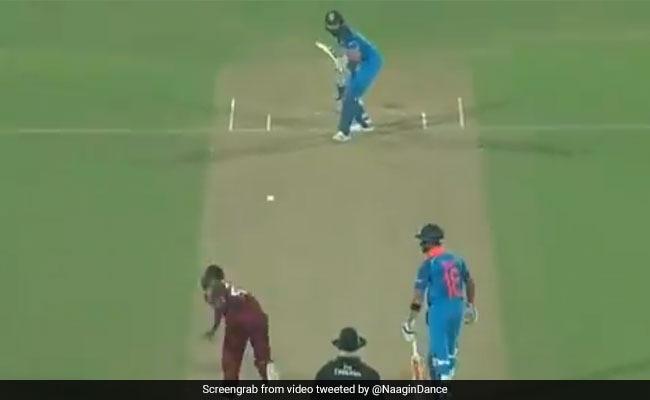 IND vs WI: रोहित शर्मा के शॉट को देखकर ऐसा चेहरा बनाने लगे विराट कोहली, वायरल हुआ VIDEO
