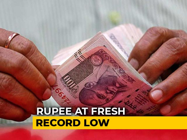 Video : Rupee Hits All-Time Low Against Dollar