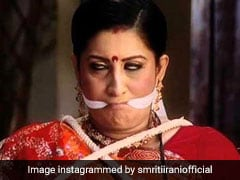 "Trolled For ""Sanitary Pad"" Comment, Smriti Irani's Insta Retort"