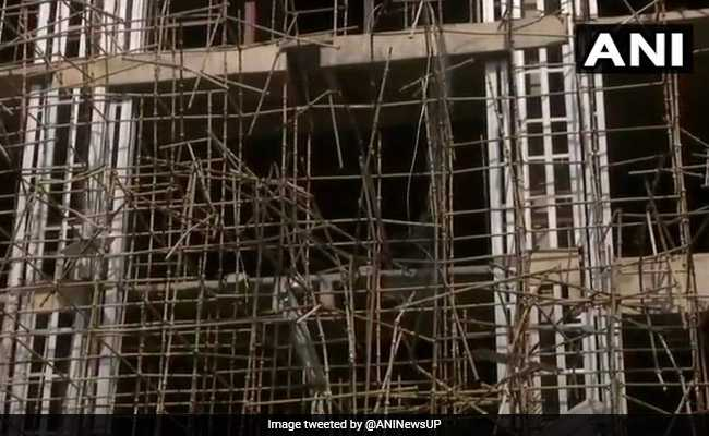 4 Workers Killed After Scaffolding Collapses At Building In Noida