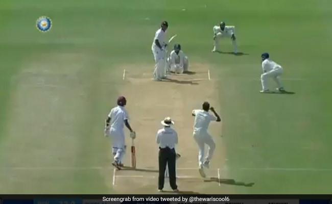 IND vs WI: अश्विन ने 'लड्डू' गेंद डालकर लिया विकेट, देखता रह गया बल्लेबाज, देखें VIDEO