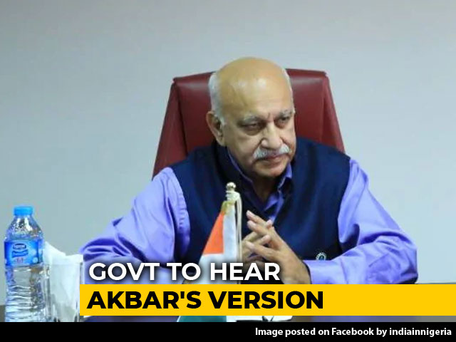 Video : MJ Akbar Not Cutting Short Tour Amid #MeToo Charges, May Return On Sunday