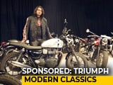 Video : Sponsored: The Triumph Bonneville Family