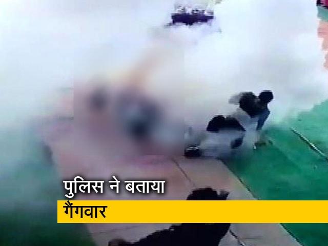 Videos : इलाहाबाद में पूजा पंडाल में हिस्ट्रीशीटर की गोली मार कर हत्या