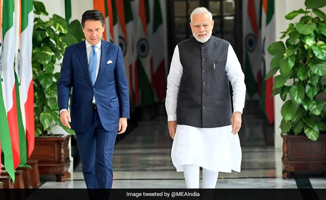 India, Italy Resolve To Expand Defence, Trade Ties