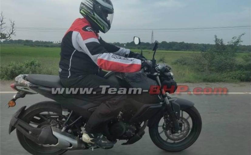 new generation yamaha fz fi spied testing in india ndtv. Black Bedroom Furniture Sets. Home Design Ideas