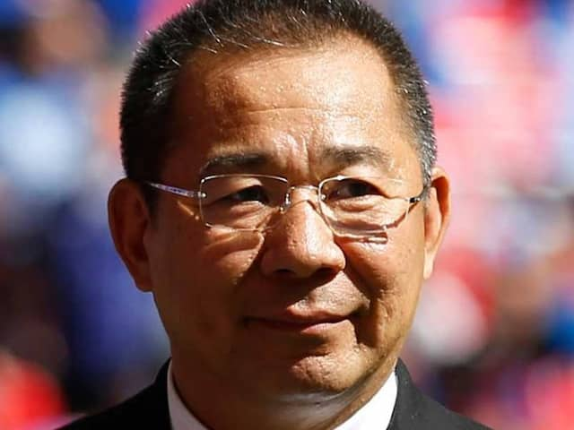 Football Clubs Pay Tributes To Leicester City Owner Vichai Srivaddhanaprabha
