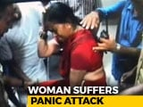 Video : Heckled By Protesters At Sabarimala, Woman Passes Out After Panic Attack