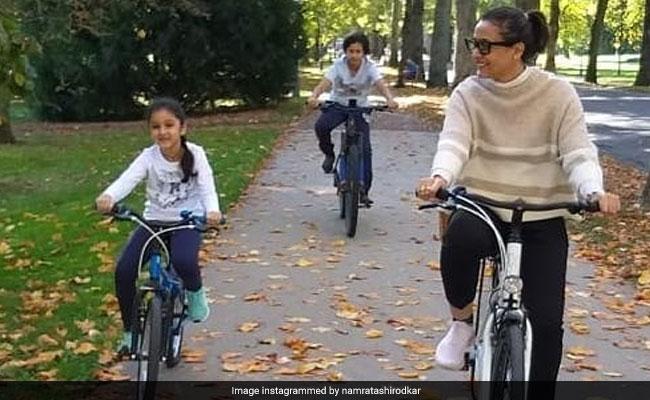 Namrata Shirodkar And Family's New York Pics: Sugar Spice And Everything Nice