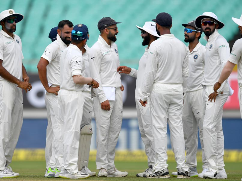 India vs West Indies 1st Test Dominant India Push Windies Into A Corner On Day 2 At Stumps