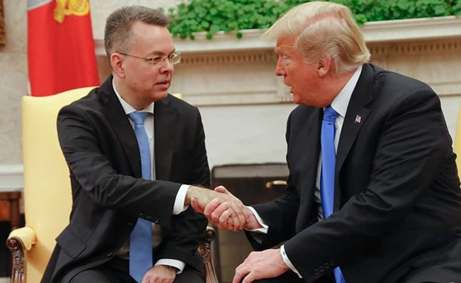 Freed US Pastor Andrew Brunson Back Home From Turkey, Meets Trump