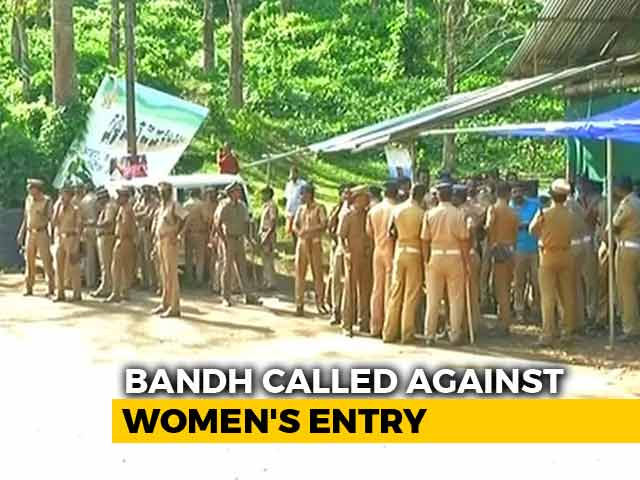 Video : Sabarimala On Edge A Day After Violence, Women Stopped By Protesters