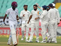 India vs West Indies Highlights, 1st Test Day 2: India In Control As Windies Lose 6 Wickets For Under 100