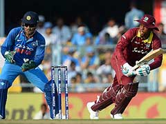 India vs West Indies, Live Score 1st ODI: Shimron Hetmyer Ton Powers Windies To 322
