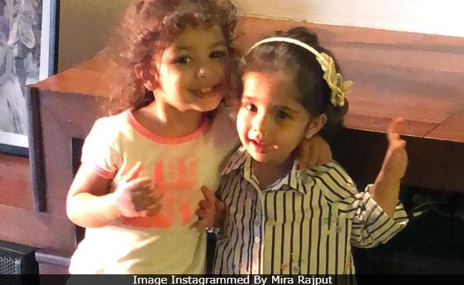 Mira Rajput Lights Up Instagram With Cute Pic Of Little Misha And Her Bestie