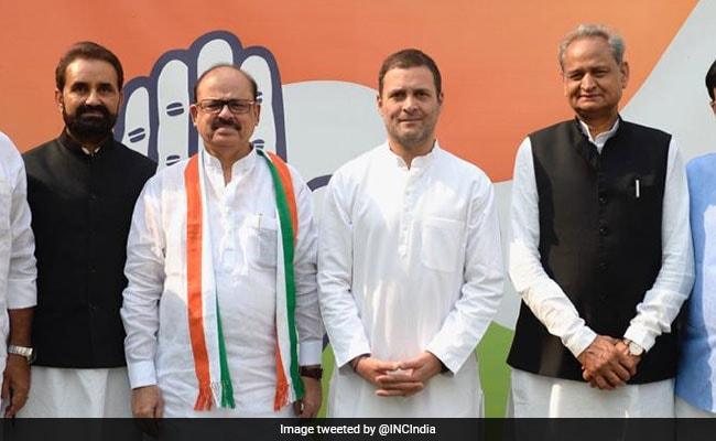 Tariq Anwar Returns To Congress After 19 Years, Meets Rahul Gandhi