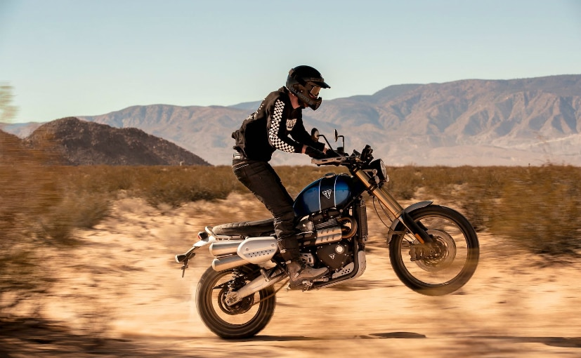 The Triumph Scrambler 1200 takes off-road capability to a whole new level