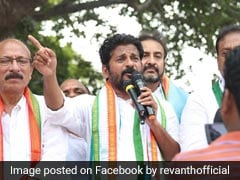 Revanth Reddy, Telangana Congress Candidate, Detained Ahead Of KCR Rally