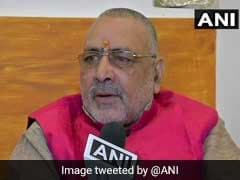"Giriraj Singh Terms Deoband ""Temple Of Terrorism""; Cleric Demands Apology"