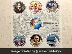India Releases Stamps In Japan, Russia To Commemorate Gandhi Jayanti