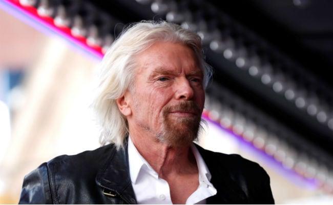 Richard Branson Steps Down From Role As Chairman Of Virgin Hyperloop