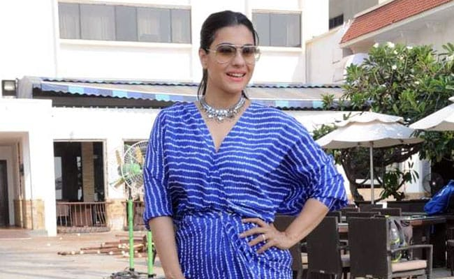 Kajol Shows Us How To Be Blue This Autumn. Get Her Look