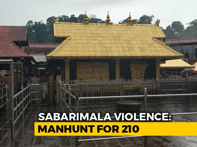 Video : Kerala Police Issues Lookout Notice For 210 Sabarimala Violence Suspects
