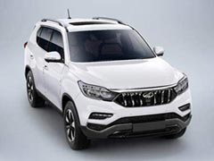 Mahindra Y400 (Rexton-Based) Premium SUV Launch Details Revealed
