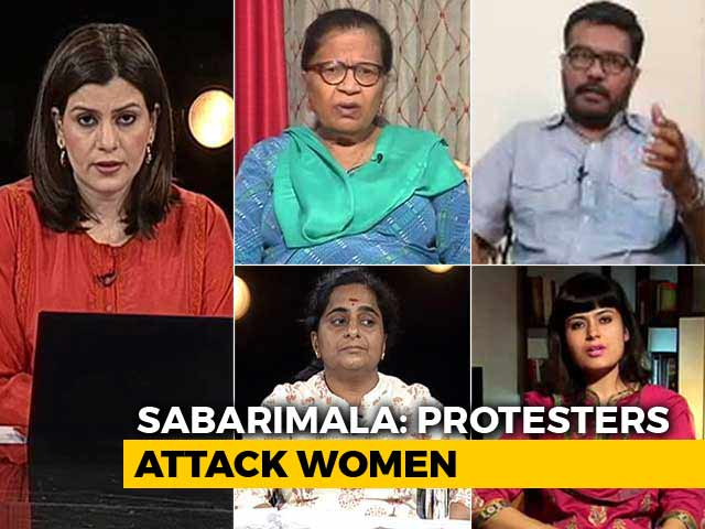 Video : Sabarimala Protests: What Kind Of Faith Justifies Violence?
