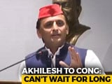 "Video : Akhilesh Yadav Draws Up Madhya Pradesh List After ""Waiting For Congress"""