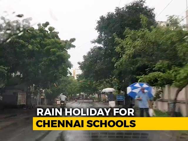 Video : Schools Closed In Coastal Tamil Nadu Districts After Heavy Rain Alert