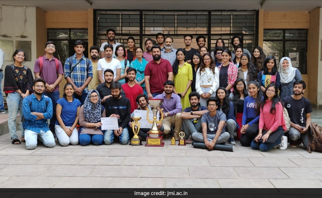 Jamia Millia Placed First In Zonal NASA India Architecture Convention