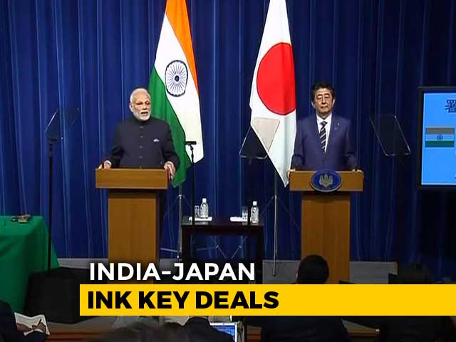 Video : India Signs $75-Billion Currency Swap Pact With Japan